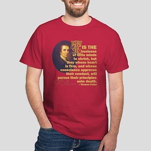 Whose Heart Is Firm Dark T-Shirt