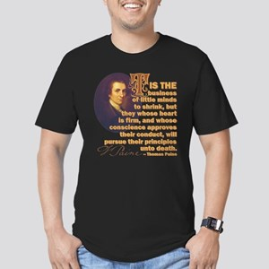 Whose Heart Is Firm Men's Fitted T-Shirt (dark)