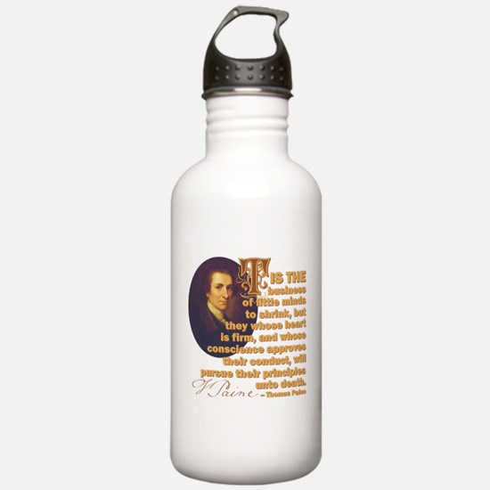 Whose Heart Is Firm Water Bottle