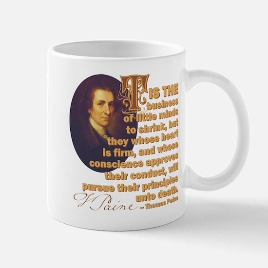 Whose Heart Is Firm Mug