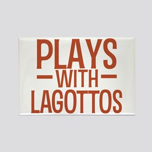 PLAYS Lagottos Rectangle Magnet