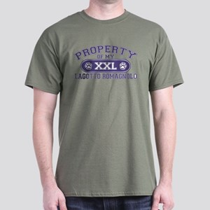 Lagotto Romagnolo PROPERTY Dark T-Shirt