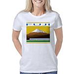 Ukiyo-e - 'Mount Fuji' Women's Classic T-Shirt