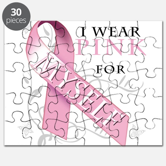 I Wear Pink for Myself Puzzle