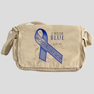 I Wear Blue for my Mother-In- Messenger Bag