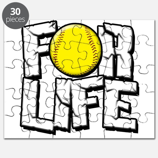 Softball For Life Puzzle
