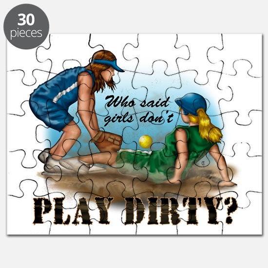 Girls Play Dirty Puzzle