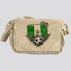 Soccer Fan Nigeria Messenger Bag