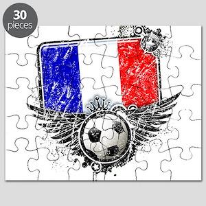 Soccer Fan France Puzzle