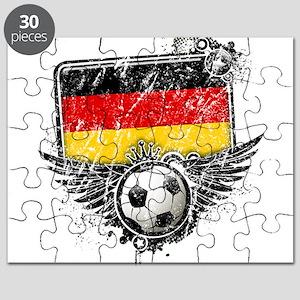 Soccer Fan Germany Puzzle