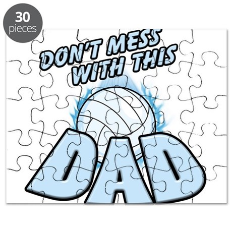 Volleyball Dad Puzzle