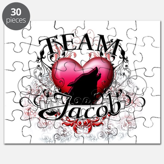 Team Jacob Tribal Puzzle