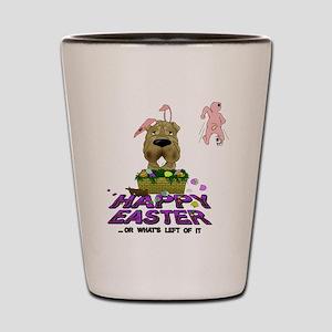 Shar-Pei Happy Easter Shot Glass