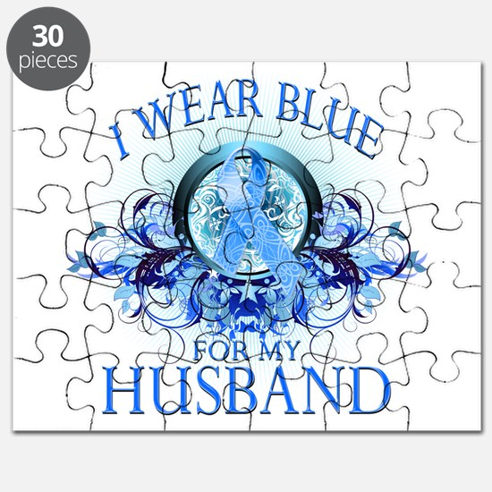 I Wear Blue for my Husband (f Puzzle