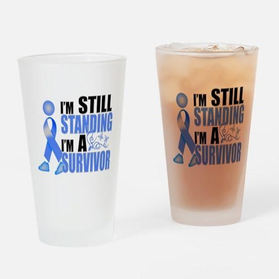 Still Standing I'm A Survivor Drinking Glass