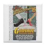 Gumshoe Wheat Beer Tile Coaster