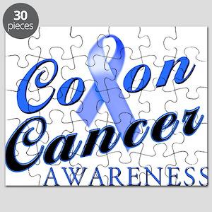 Colon Cancer Awareness Puzzle