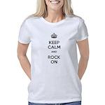 keepcalmandrockon Women's Classic T-Shirt