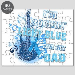 I'm Rockin' Light Blue for my Puzzle