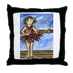 Dancer Drawings n Paintings Throw Pillow