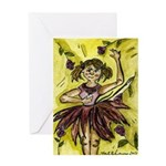 Dancer Drawings n Paintings Greeting Card