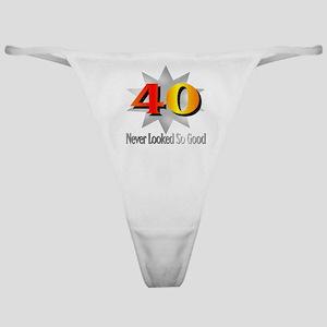 40th Birthday Classic Thong