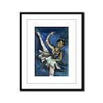 Dancer Drawings n Paintings Framed Panel Print