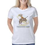 corgi-bull-rider Women's Classic T-Shirt