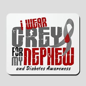 I Wear Grey 6 Diabetes Mousepad