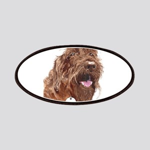 Chocolate Labradoodle3 Patches