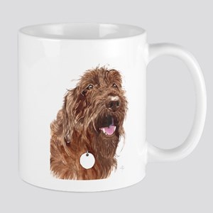 Chocolate Labradoodle3 Mug