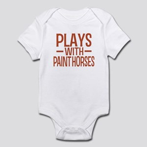 PLAYS Paint Horses Infant Bodysuit