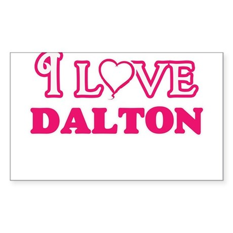 I Love Dalton Sticker