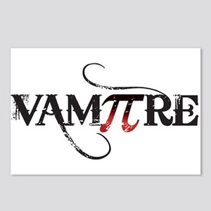 Pi Day VamPIre for HER Postcards (Package of 8)