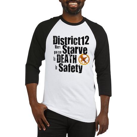 district 12 Baseball Jersey