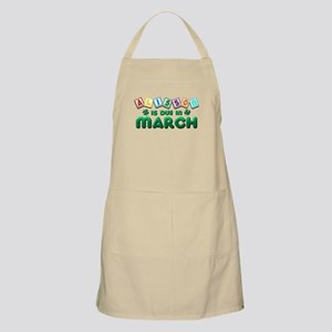 Alisson is Due in March Apron