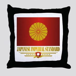 """""""Japanese Imperial Standard"""" Throw Pillow"""