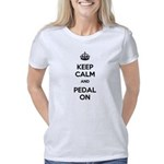keepcalmandpedalon Women's Classic T-Shirt