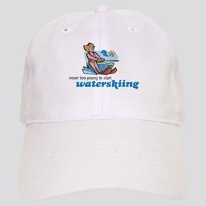 Never Too Young to Start Waterskiing Cap