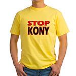 Stop Kony Yellow T-Shirt