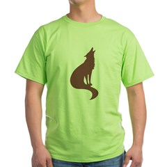 Brown Wolf T-Shirt