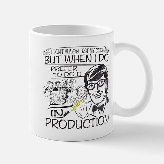 Nerdy Test Coder Mug