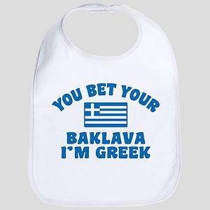 Funny Greek Baklava Bib