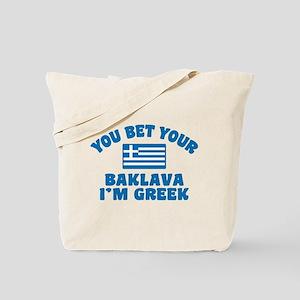 Funny Greek Baklava Tote Bag