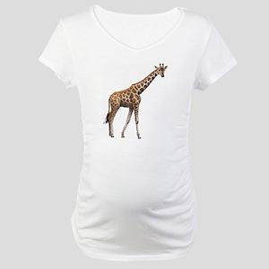Giraffe Maternity T-Shirt