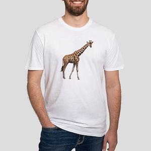 Giraffe Fitted T-Shirt