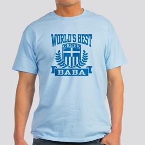 World's Best Greek Baba Light T-Shirt