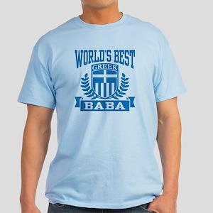 World's Best Greek Baba Light T-Shirt