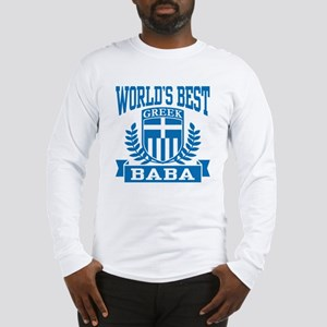World's Best Greek Baba Long Sleeve T-Shirt