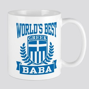 World's Best Greek Baba Mug